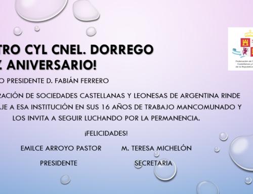 Centro CyL Coronel Dorrego: Feliz 16° Aniversario!