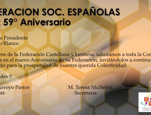FEDESPA: Feliz 59° Aniversario