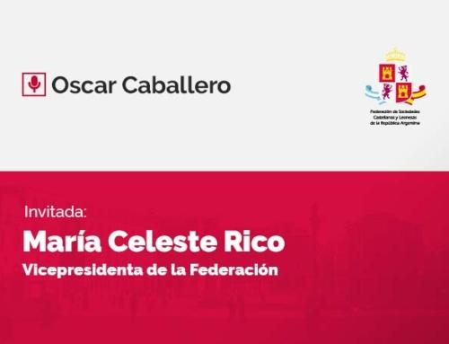 Oscar Caballero – con María Celeste Rico