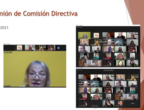 04 de Mayo 2021: Reunión Comisión Directiva