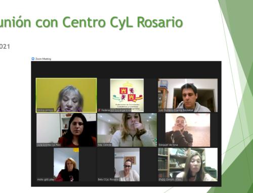 2° Reunión con Centros: Castilla y León de Rosario