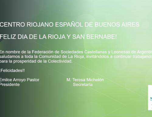 Feliz Día de la Rioja y San Bernabe!