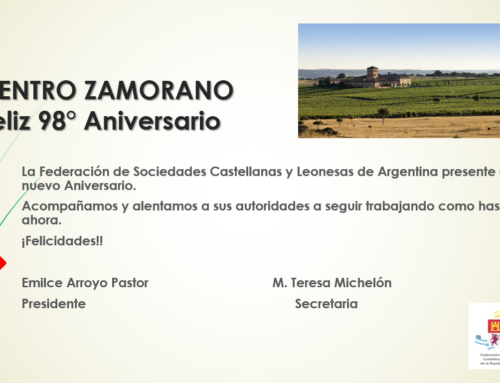 Centro Zamorano: Feliz 98° Aniversario!