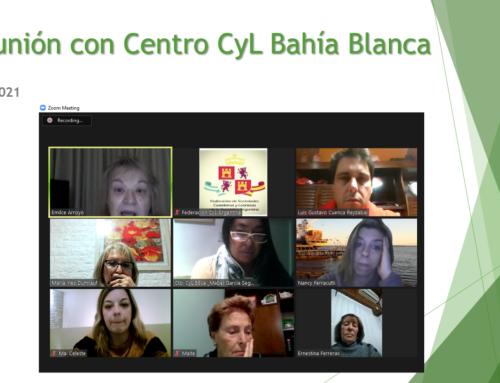 Reunión con los Centros: Centro CyL Bahía Blanca
