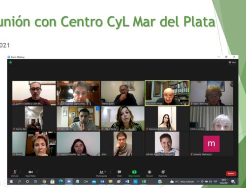 Reunión con Centros: Centro CyL Mar del Plata
