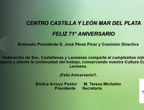 Centro CyL Mar del Plata: Feliz 71° Aniversario!