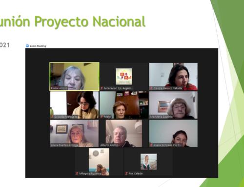 19 julio 2021: Reunión Proyecto Nacional