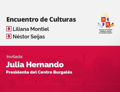 Encuentro de Culturas – con Julia Hernando