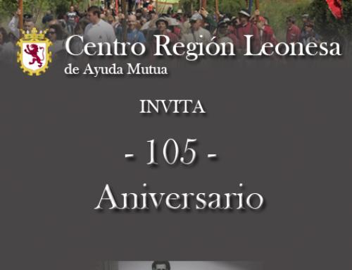 18 Julio 2021: Centro Reg. Leonesa Celebración 105° Aniversario