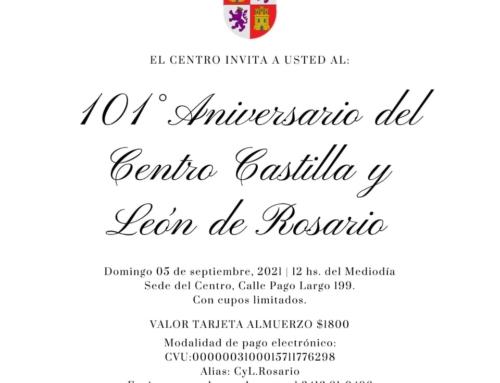 Centro CyL Rosario: Festejo 101° Aniversario