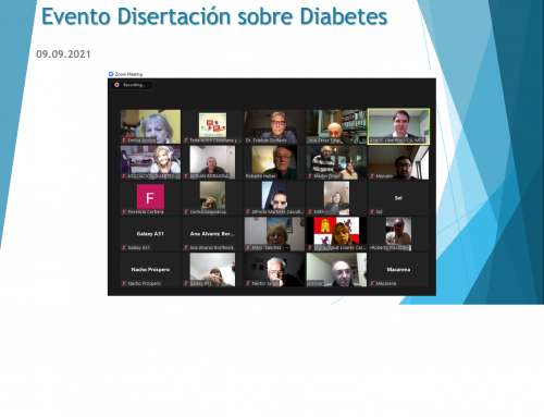 09 de Sept 2021: Disertación sobre Diabetes