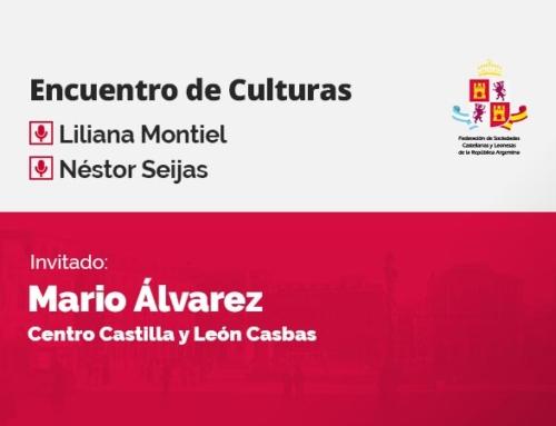 Encuentro de Culturas – con Mario Álvarez