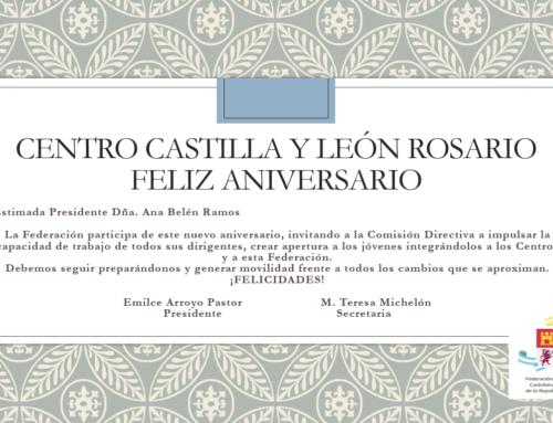 Centro CyL Rosario: Feliz Aniversario!