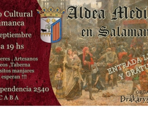 5 Sept 2021: Aldea Medieval