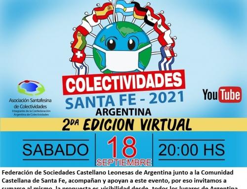 Fiesta de las Colectividades de Santa Fe 2021 – 2da edición virtual