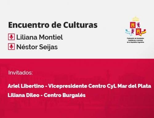 Encuentro de Culturas – con Ariel Libertino y Liliana Dileo