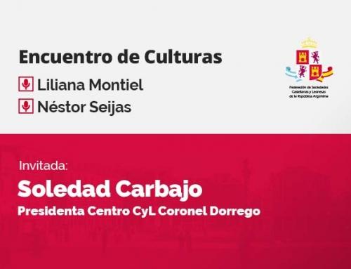 Encuentro de Culturas – con Soledad Carbajo