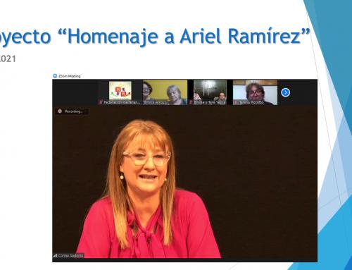 06 de octubre 2021: Homenaje a Ariel Ramirez