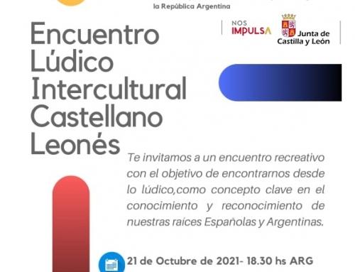 21 de octubre 2021: Encuentro Lúdico Intercultural Castellano Leones