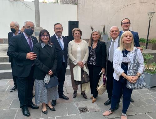 01 de Octubre 2021: Bienvenida a Autoridades Españolas