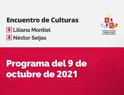 Encuentro de Culturas – 9 de octubre de 2021