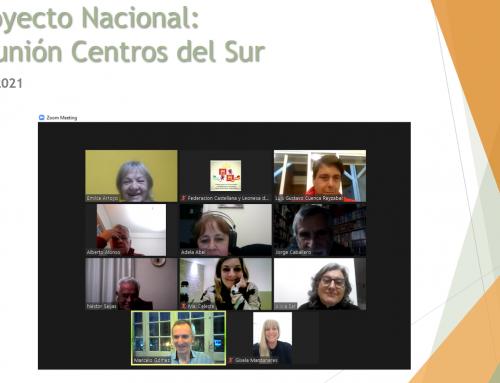 Proyecto Nacional: Reunión con Centros de Sur